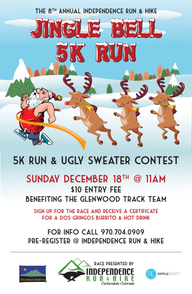 Jingle Bell Run Poster