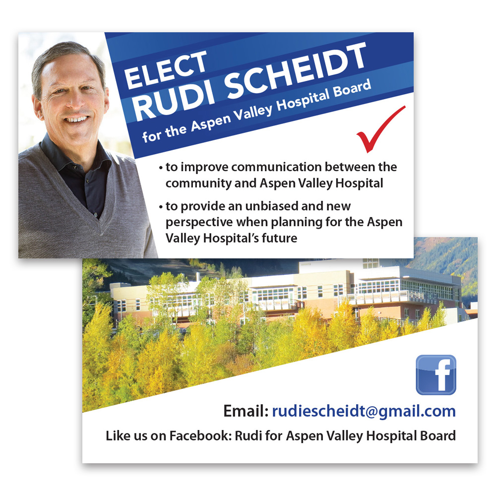 Rudi Scheidt Business Card